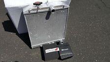 92-00 CIVIC EJ/EK/EG/INTEGRA DB DC 3-ROW FULL ALUMINUM RADIATOR + SKUNK2 CAP