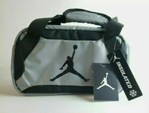 NWT Nike Classic Air Jordan Jumpman Insulated Lunch Bag Tote Cool Gray 9A1848