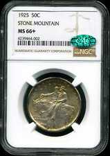 1925 50C Stone Mountain Commemorative Half Dollar MS66+ NGC 4239464-002 CAC