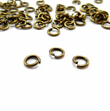 Lots 50-500 Split Jump Ring Open Connector Jewelry Finding 4/5/6/8/10/12/14/20mm