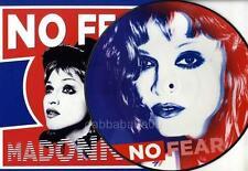 """MADONNA - NO FEAR PICTURE DISC VINYL 12"""" / LP + POSTER UNIQUE FOLD OUT P/S NEW"""