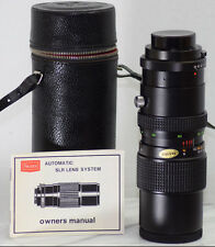 VINTAGE TOKINA SEARS 90-230mm f4.5 SLR ZOOM LENS PENTAX RICOH MAMIYA MINT 102661