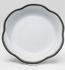 Teller Neo Barock 22 cm Frühstücksteller Kaffeeservice weiß-schwarz Design KARE