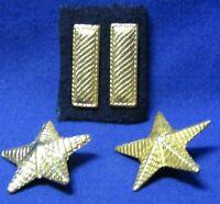 lot of 4x each Original WW2 US insignia clutch back devices