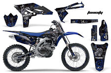 AMR Racing Yamaha YZF250 Graphics Number Plate Decal Kit Bike Wrap 10-13 TOXIC K