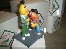 Extremely Rare! Sesame Street Bert and Ernie Leblon Delienne Figurine Statue