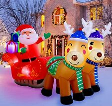 #10 Giant Inflatable Santa Claus Outdoor Christmas Ornaments