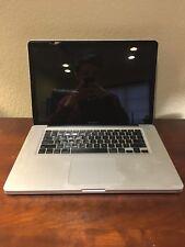 """Apple MacBook Pro A1286 15.4"""" Laptop - MB470LL/A (October, 2008)"""