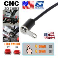 CNC Motorcycle Handlebar Switch Adjustable Mount Headlight Fog Light ON/OFF -US