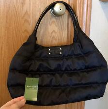 New Kate Spade Black STEVIE Alpine Hills Nylon Puffer Bag Purse