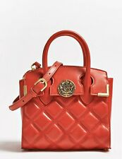 Guess Luxe Quileted Leather Bad Red