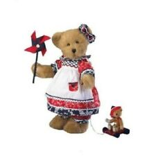 Boyds Plush Glory B Bearsworth with Buttons, New with Tag, 14 In. High, 4015946