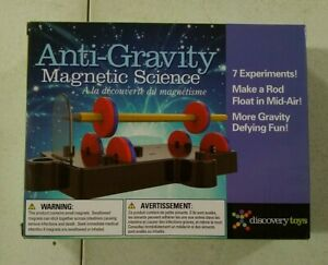 Discovery Toys Anti-Gravity Magnetic Science NEW