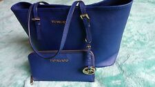 original Michael Kors handbag blue+wallet