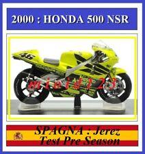 1/18 - ROSSI - HONDA NSR 500 - 2001 Jerez Test Pre Season - Die-cast