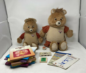 Teddy Ruxpin Bundle SPARES AND REPAIRS Plus Tapes And Books 1980's Retro Vintage