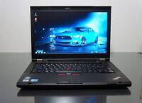 Lenovo ThinkPad T430s laptop Core i5 3.3GHZ HD+ 1600x900 500GB 8GB RAM Win 10