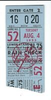 AL KALINE 1953 ROOKIE BASEBALL TICKET 1ST GAME @ YANKEE STADIUM 7TH EVER AB 1STK