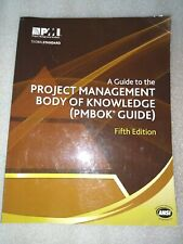 PMBOK A Guide to the Project Management Body of Knowledge Fifth Edition