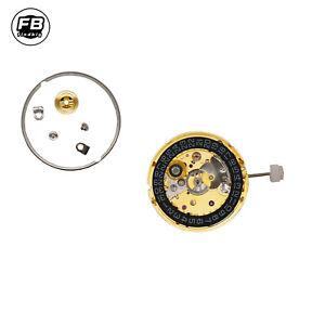 ST2130  Clone ETA 2824-2 SELLITA SW200  Gold Black 3H Atomatic Watch Movement