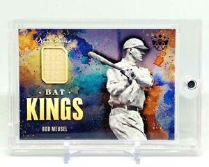 2021 Diamond Kings FOTL Red Parallel BOB MEUSEL Bat Kings SP #5/5 N.Y. Yankees