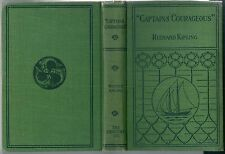1919 CAPTAINS COURAGEOUS Rudyard Kipling Century Capitani coraggiosi illustrato