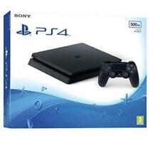 Sony PlayStation 4 Slim 500GB Console - Jet Black