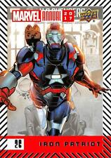 IRON PATRIOT / 2017 MARVEL ANNUAL (2018 Upper Deck) BASE Trading Card #26