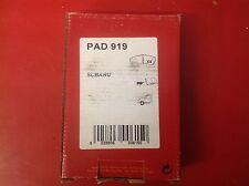 APEC FRONT BRAKE PADS TO SUIT SUBARU VIVIO 660 PAD919