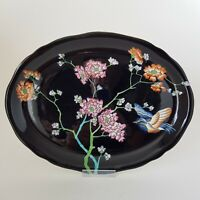 Wood & Sons Sheraton Formosa Oval Plate Platter Tray by Frederick Rhead :C7