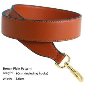 DIY Wide Leather Crossbody Strap Shoulder Bag Belt Replacement Handle Boston Bag