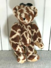 "Vermont Teddy Bear Giraffe Soft Plush 16"" Tall Rare HTF"