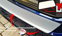 LACKSCHUTZFOLIE-LADEKANTENSCHUTZ FÜR AUDI Q2/ GA - 3D CARBON SILBER 160µm