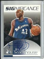 Jerry Stackhouse 03/04 SP Game Used Edition Autograph #24/100