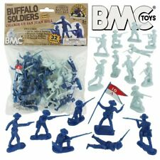 BMC Toys 54mm San Juan Hill Buffalo Soldiers Figure Playset 40037 NEW!