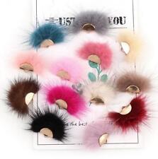 NEW 4X Fan Shape feather Pendant tassel Earrings Jewelry DIY Making Accessories