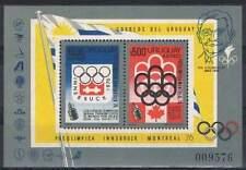 Uruguay postfris 1975 MNH block 24 - Olympische Spelen (S0794)