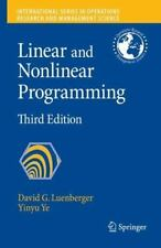 Linear and Nonlinear Programming International Series in Operations Research &