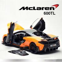 LCD Models 1:18 Scale McLaren 600LT Super Sports Car Diecast Car Model Orange