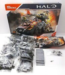 Mega Bloks Construx HALO UNSC Kodiak Siege Cannon **READ**