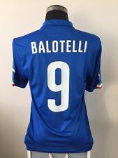 BALOTELLI #9 Italy Home Football Shirt Jersey 2014/15 (L)