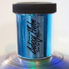 Seven Sins Choppers LAZER BEAM BLUE Metalflake Chopper Hotrod Paint Flake