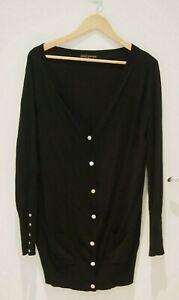 Perri Cutten Black Cardigan   ~Size XL~