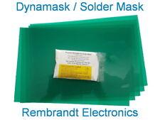 Dynamask: the best DIY Solder Mask. 10 sheets 20x30CM +50gram developer (NL)