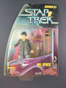 Star Trek Mr Spock Playmates 1998 Warp Factor Series 5 Figure 65129