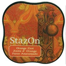 Tsukineko SZMID 71 StazOn Midi Ink Pad Orange Zest