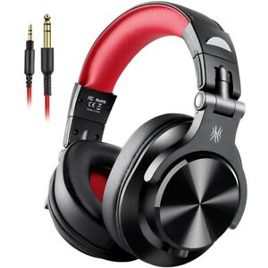 Gaming Headset HiFi Studio DJ Headphones Stereo Bass Wired with Mic For PS4 Xbox