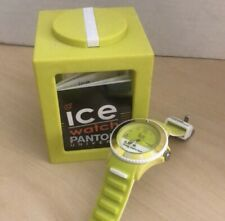 NEW Pantone Ice Watch Sulphur Spring Chip 13-0650 NEW IN BOX Yellow/ Green- Gift