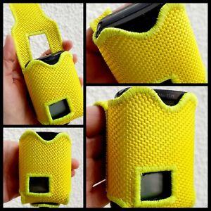Meldertasche/Gürteltasche Swissphone Quattro aus Feuerwehrschlauch gelb