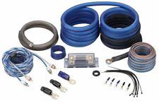 Rockville RWK0CU 0 AWG de cobre calibre 100% Amp cable Kit Completo instalación de conexión de fibra óptica